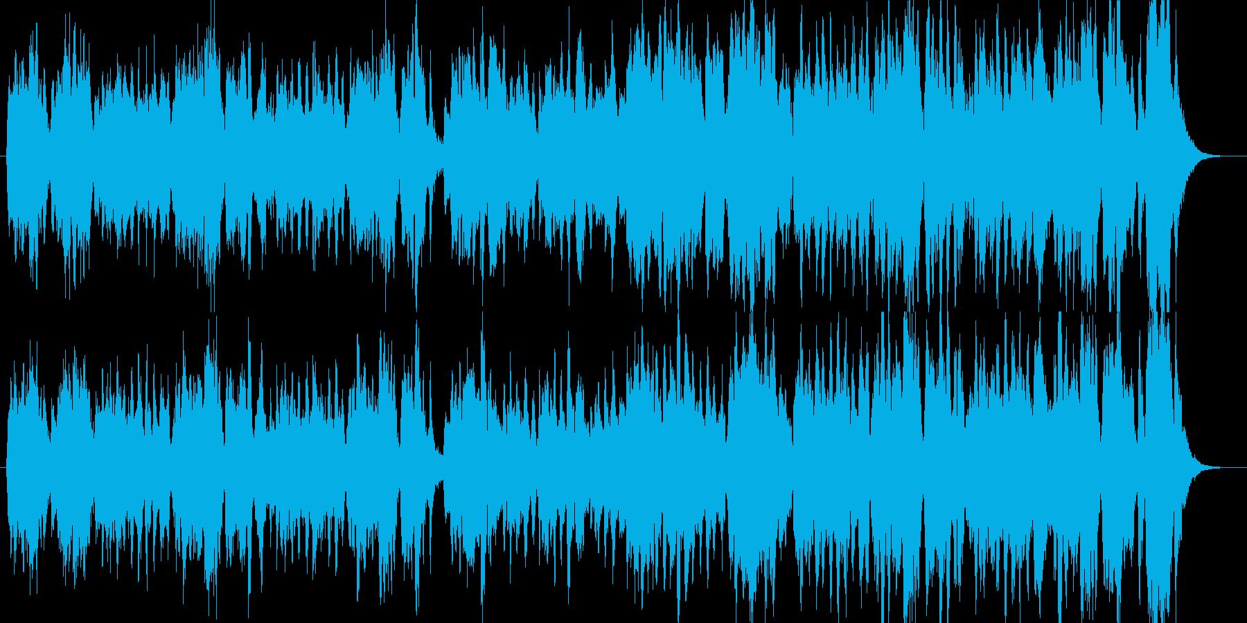 怪しい魔女・軽快でコミカルなオーケストラの再生済みの波形