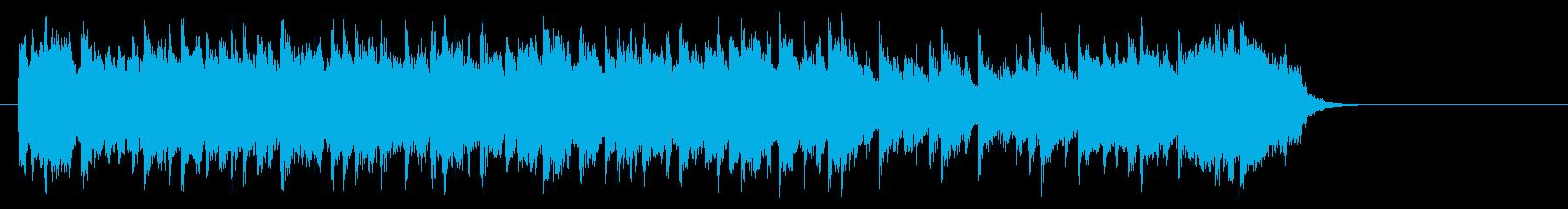 安らぎのミディアムポップ(サビ)の再生済みの波形