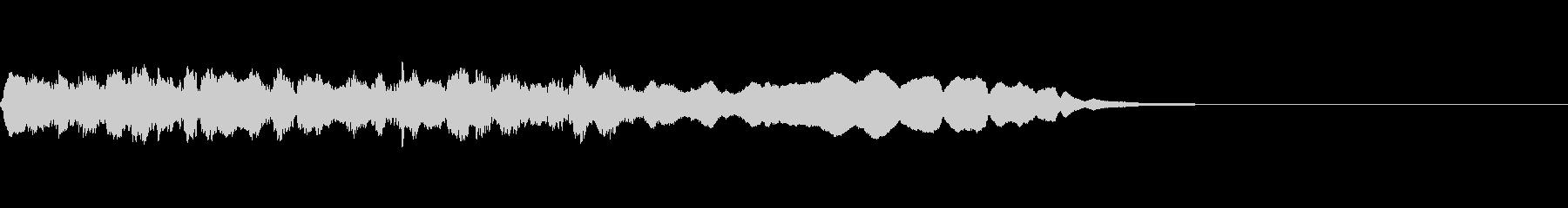 宿屋ジングルの未再生の波形
