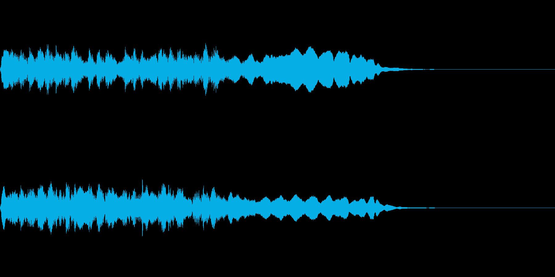 宿屋ジングルの再生済みの波形
