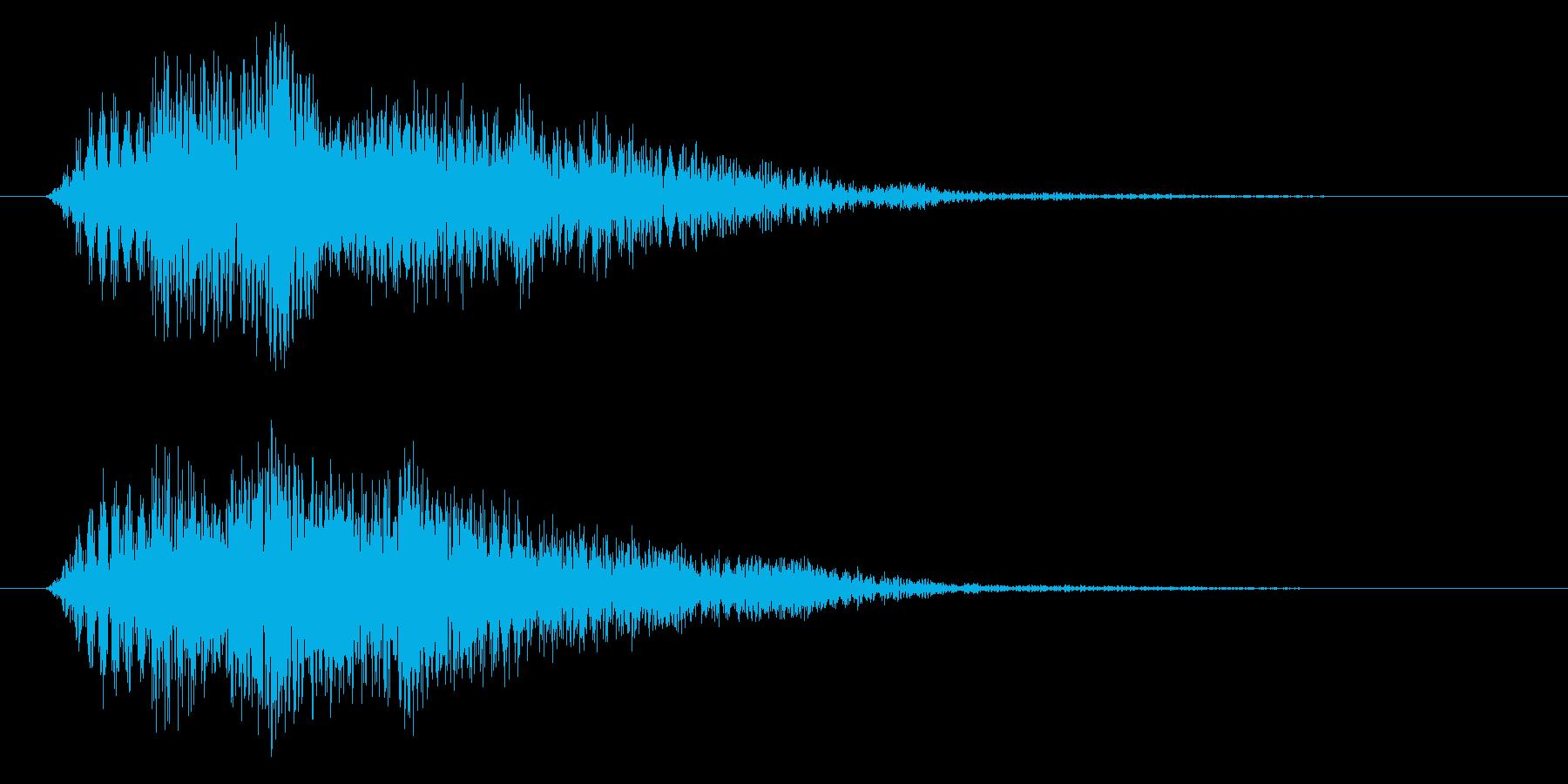 不穏な空気/ホラー系/気配の再生済みの波形