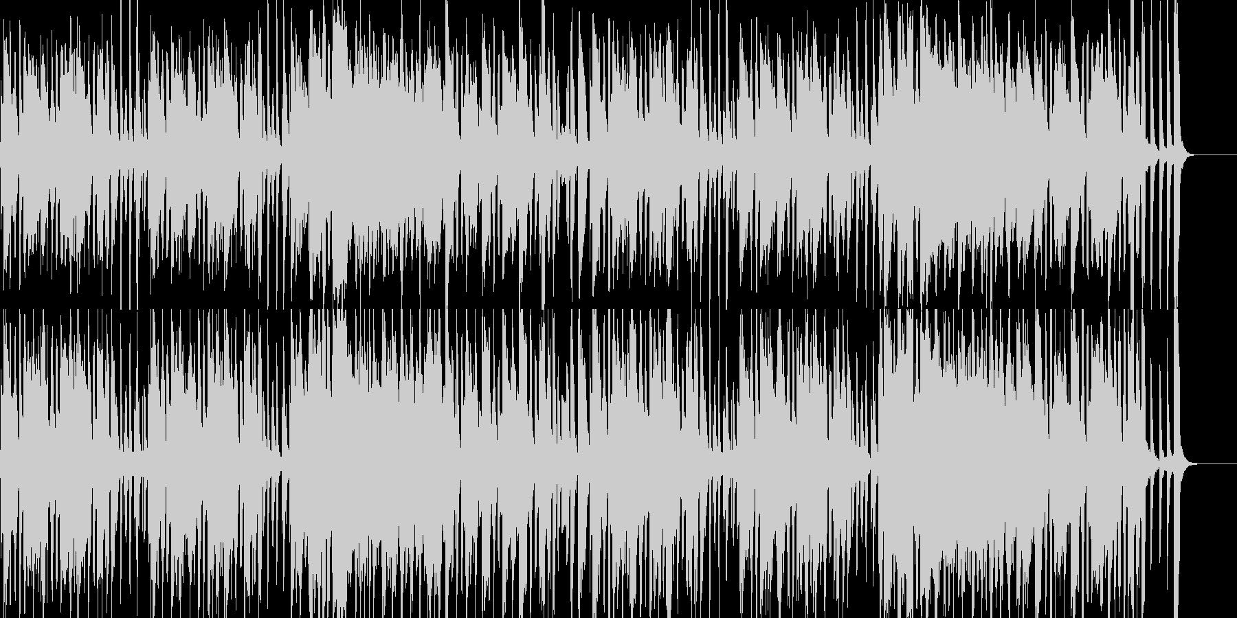 子供・ペット向けのほのぼのコミカルポップの未再生の波形