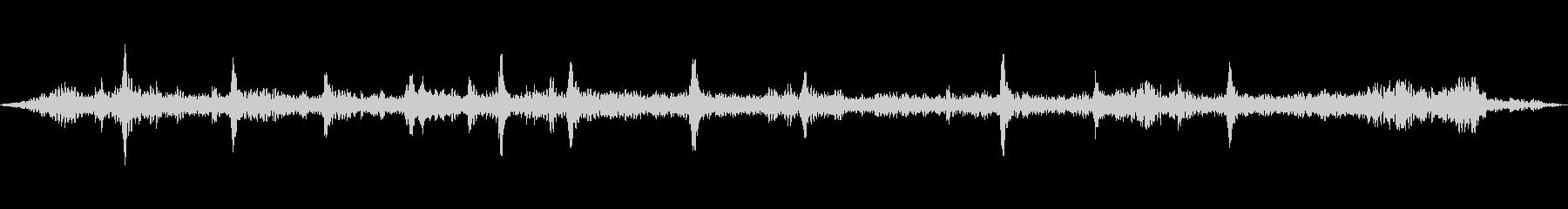 チュンチュン・・・(スズメたちの鳴き声)の未再生の波形