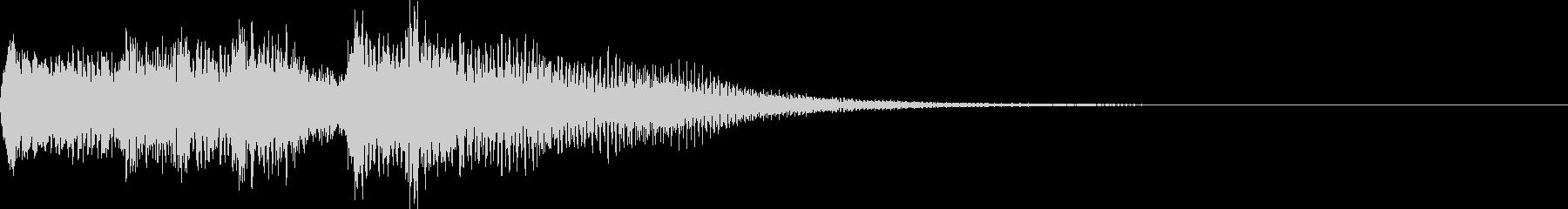ピアノファンファーレ!Lv.UP時などにの未再生の波形
