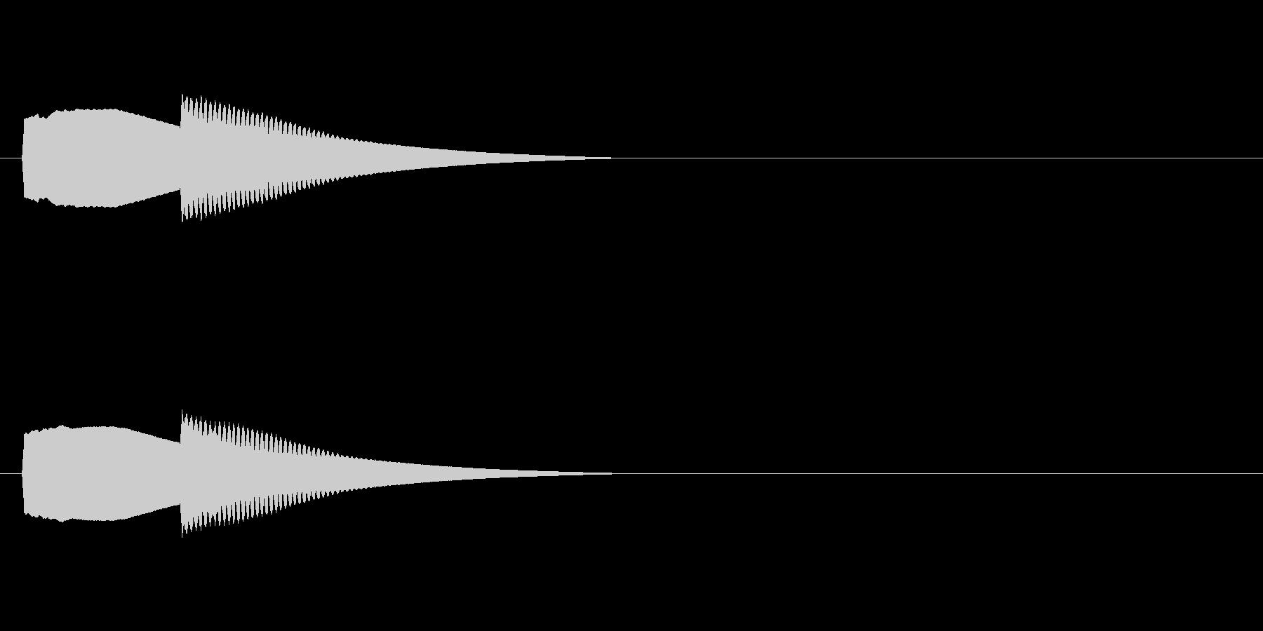 【正解02-4】の未再生の波形