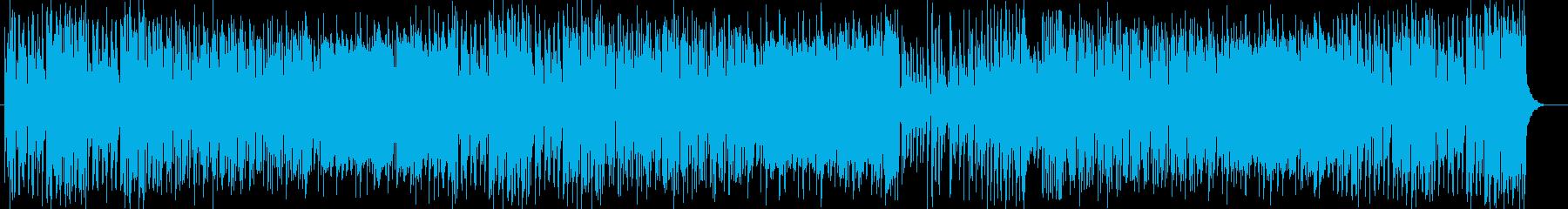 軽快なピアノで前向きになるポップスの再生済みの波形