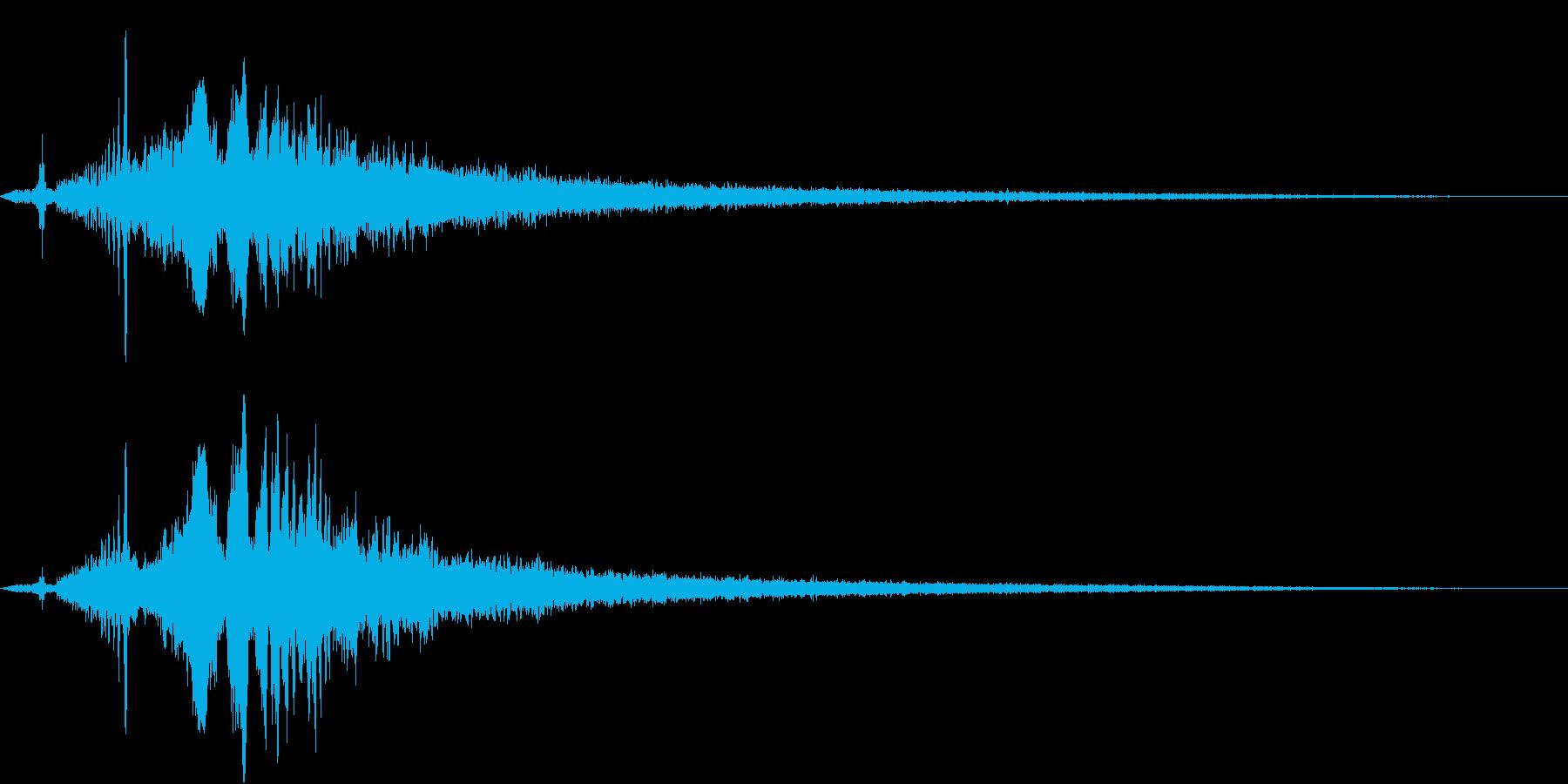 TV RADIO SFX4 チャプターの再生済みの波形
