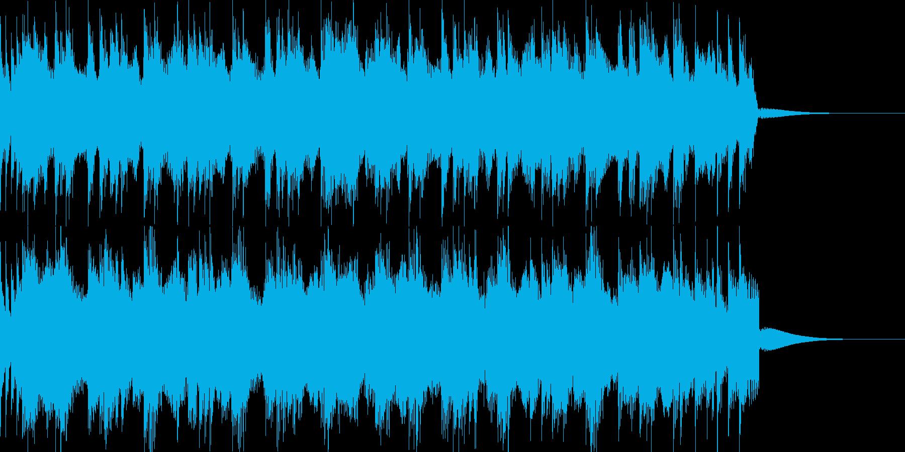 エスニック・激しいの再生済みの波形