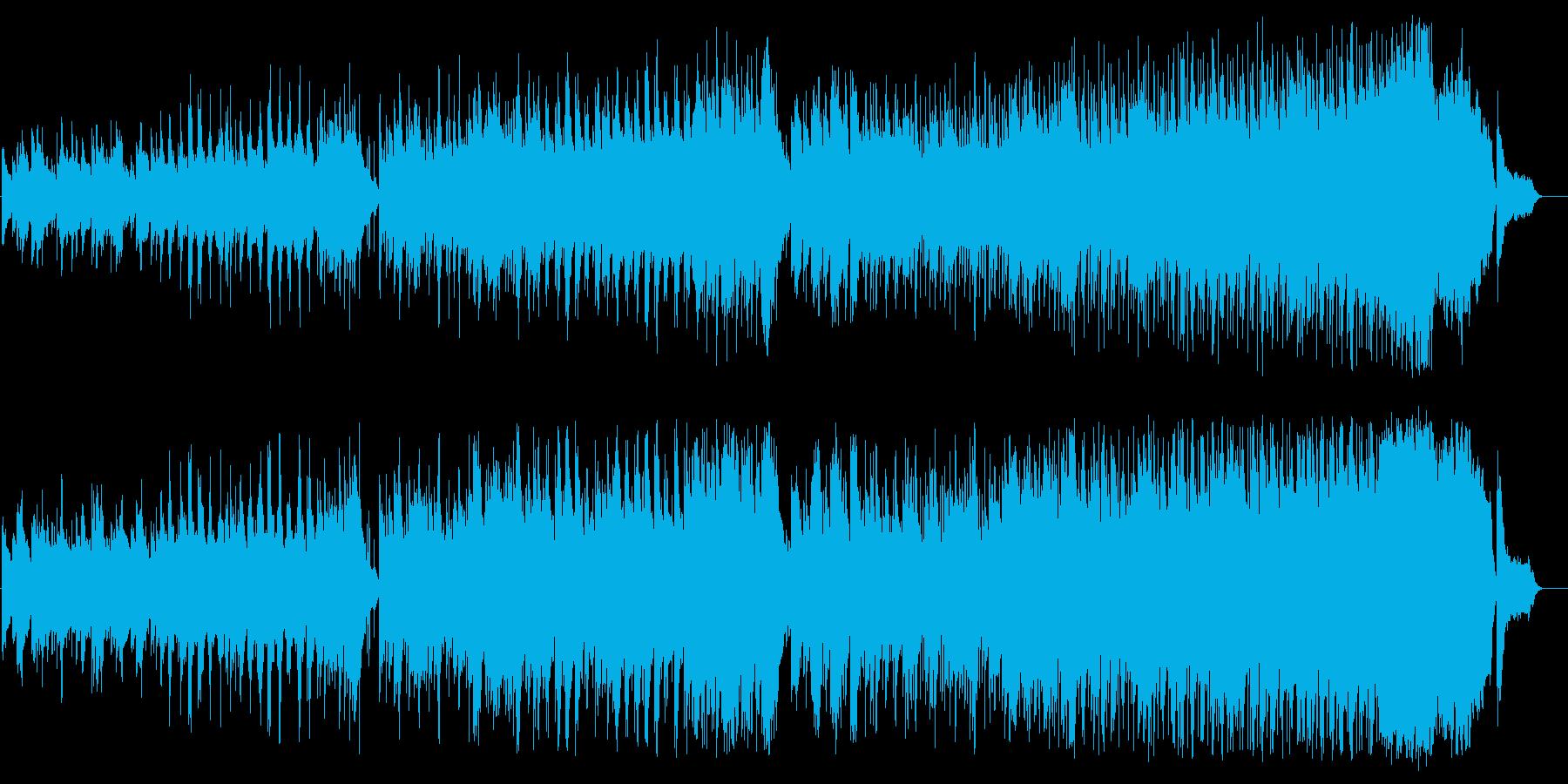 おとなしく正統なバラード旅立ち編の再生済みの波形