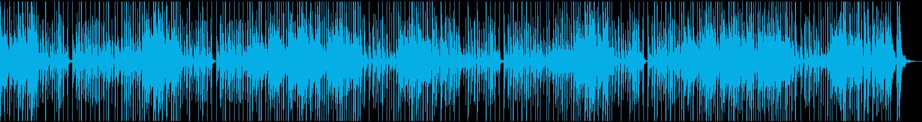 ほのぼの、可愛い感じのBGMの再生済みの波形