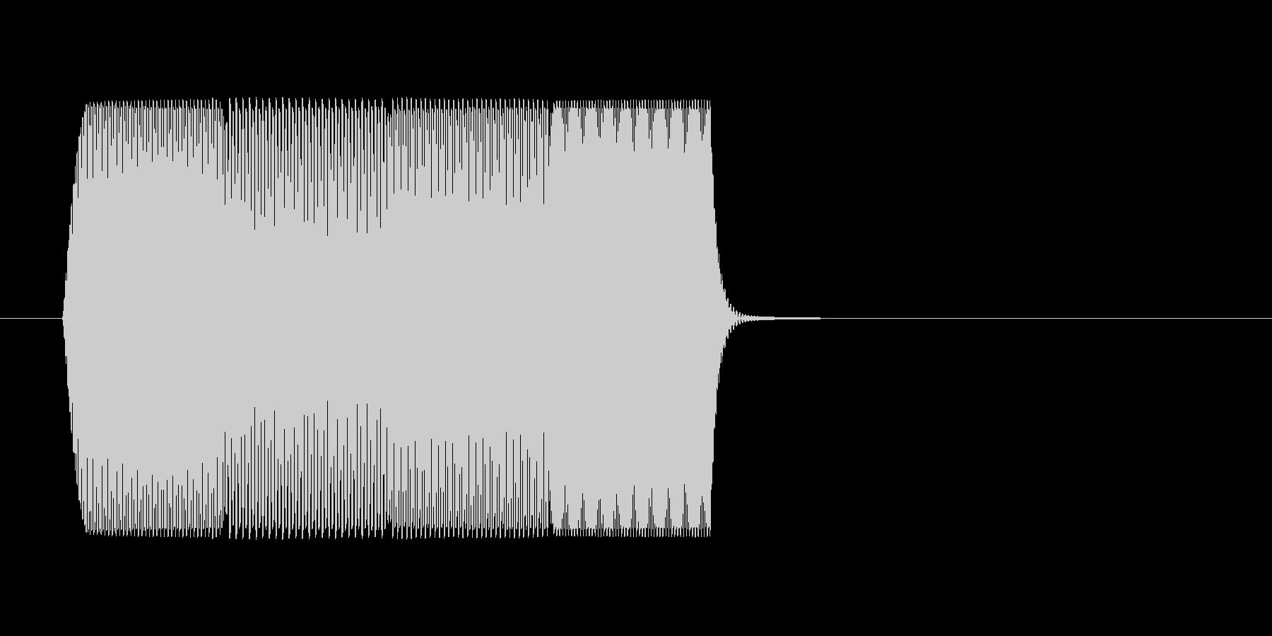ファミコン風 台詞.ポップアップ系 01の未再生の波形