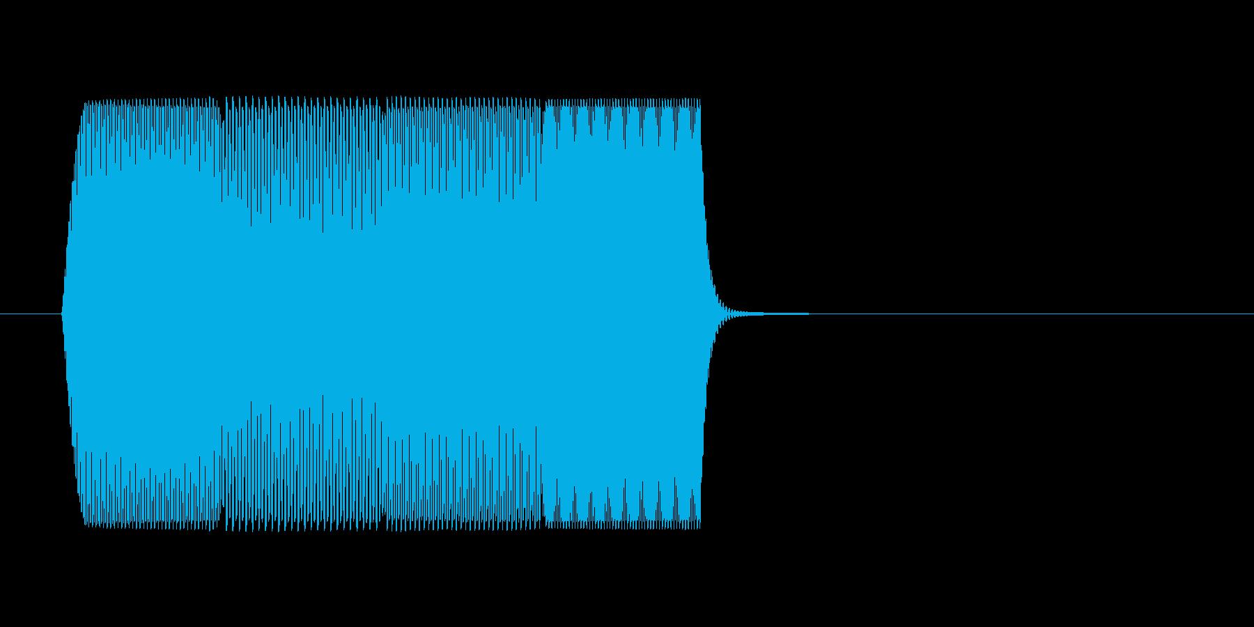 ファミコン風 台詞.ポップアップ系 01の再生済みの波形