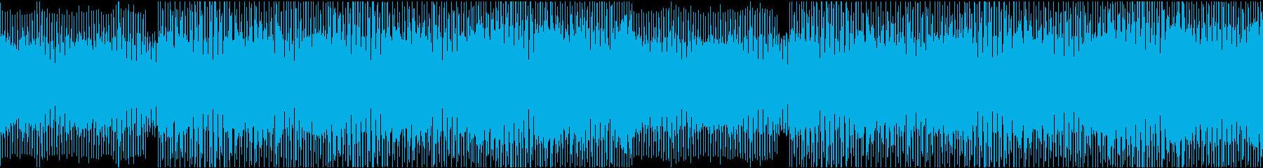 幻想的で陶酔感のあるディープハウスループの再生済みの波形