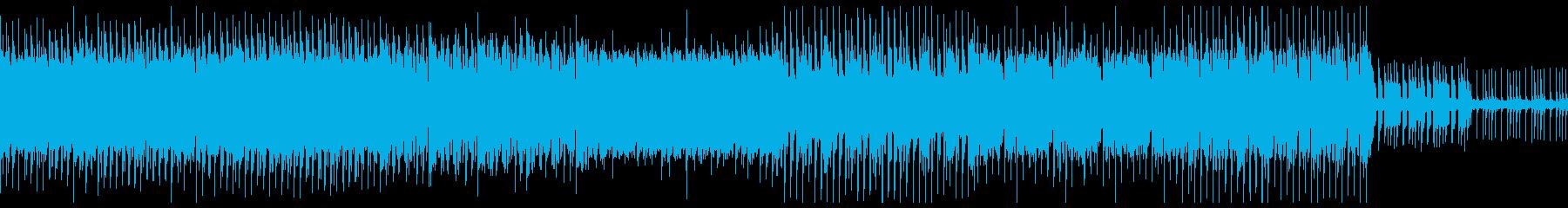 ノリのいいクラブ風ミュージックの再生済みの波形