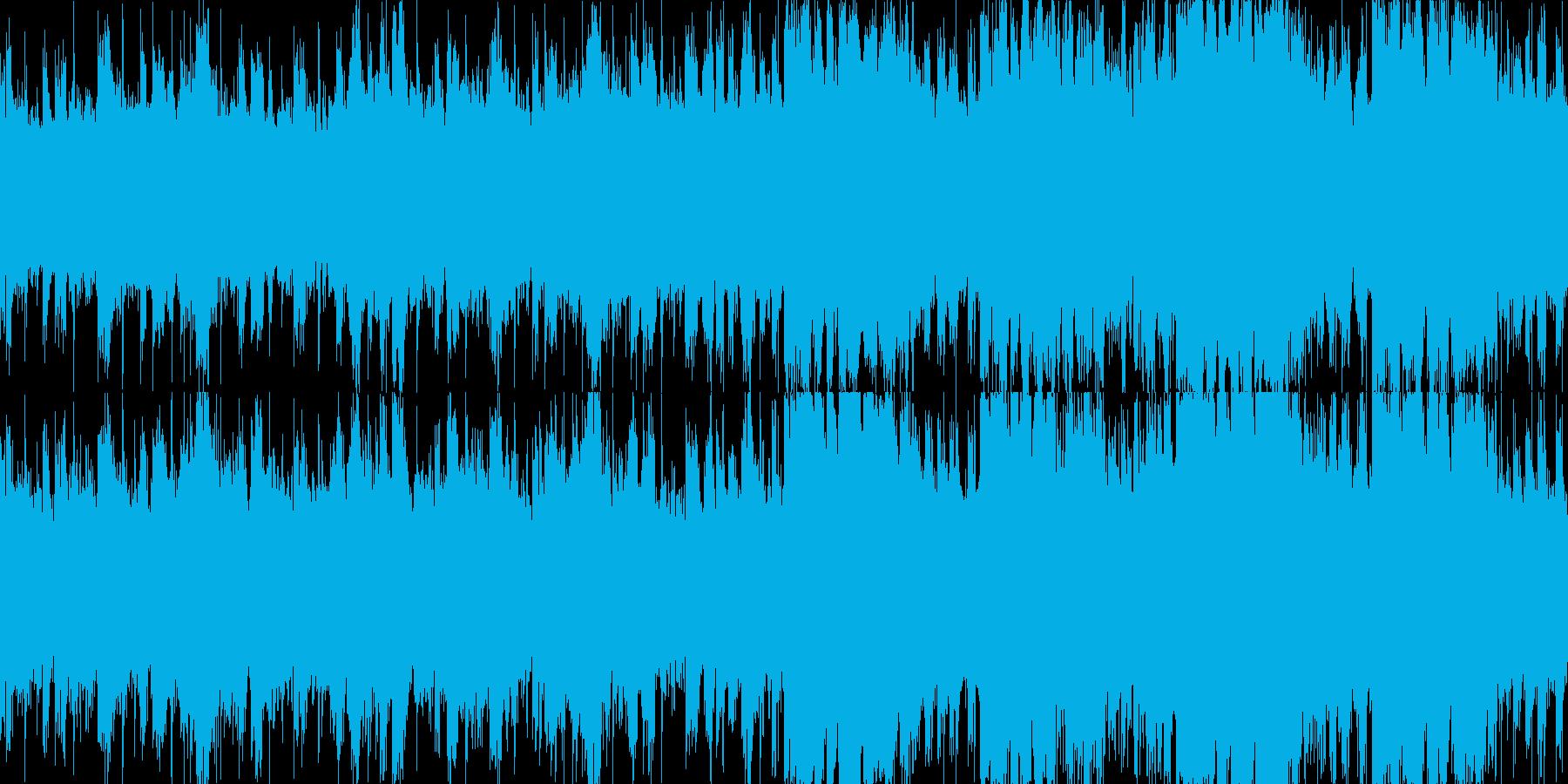 幻想チュートリアル/リズム(LOOP)の再生済みの波形