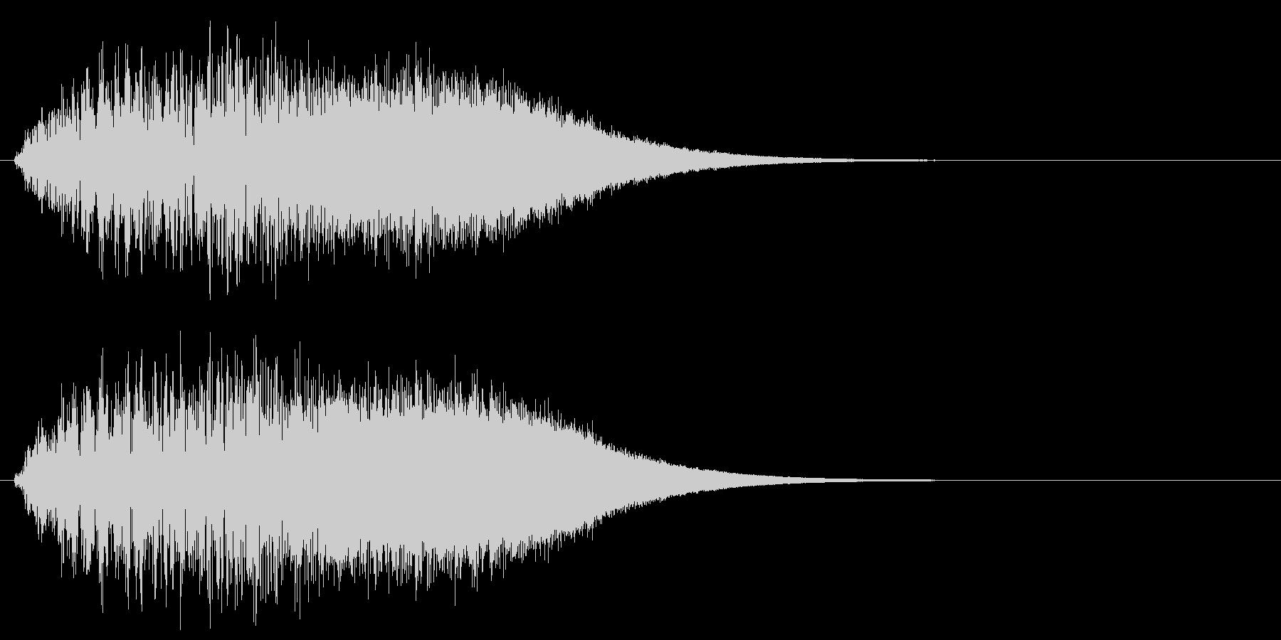 上昇系グリッサンド(キーC)の未再生の波形