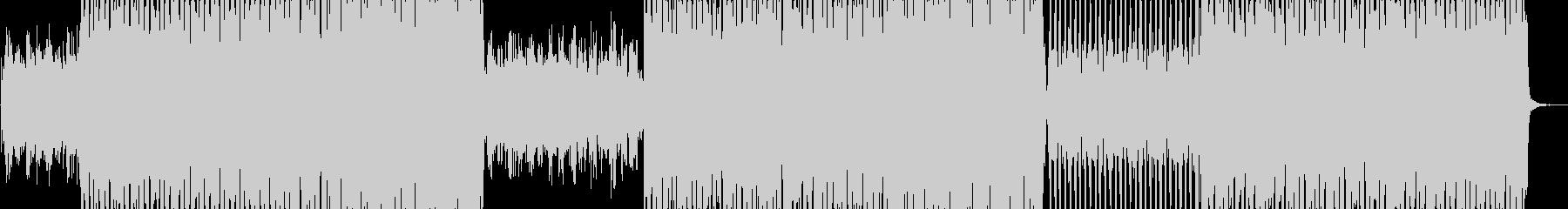 ヒューマンボイスを軸にEDM調で展開。の未再生の波形