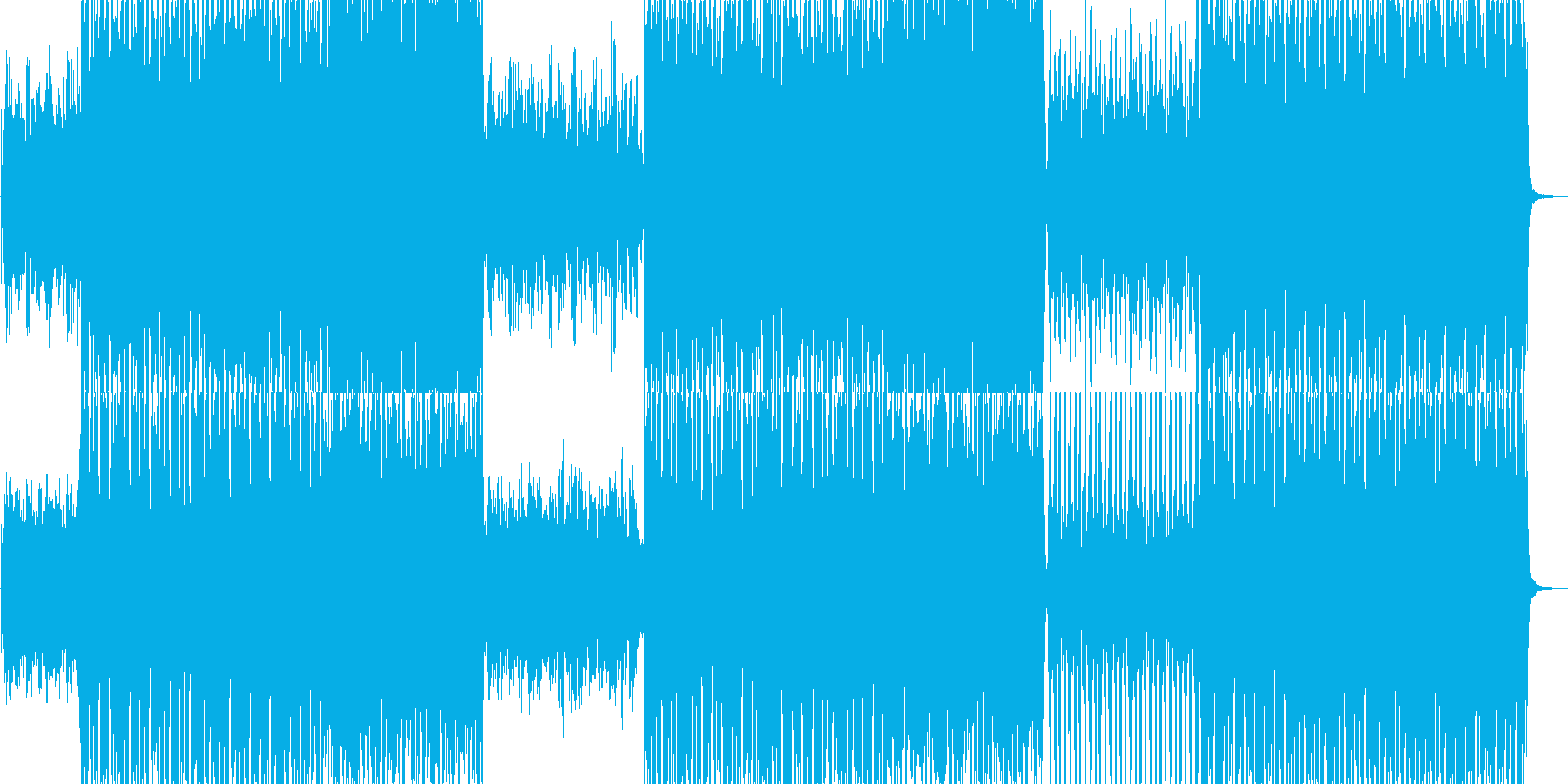 ヒューマンボイスを軸にEDM調で展開。の再生済みの波形