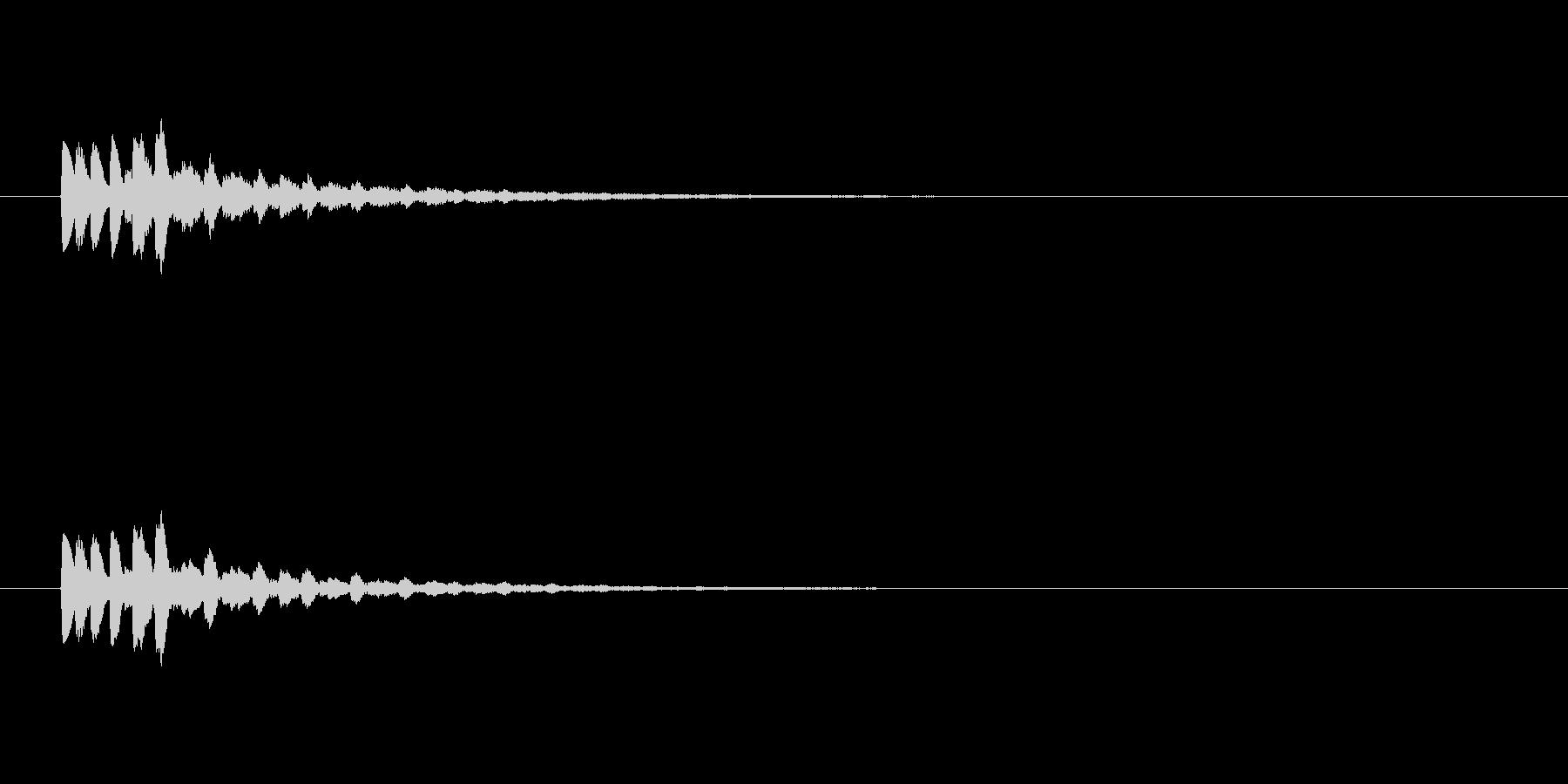 【ショートブリッジ17-1】の未再生の波形