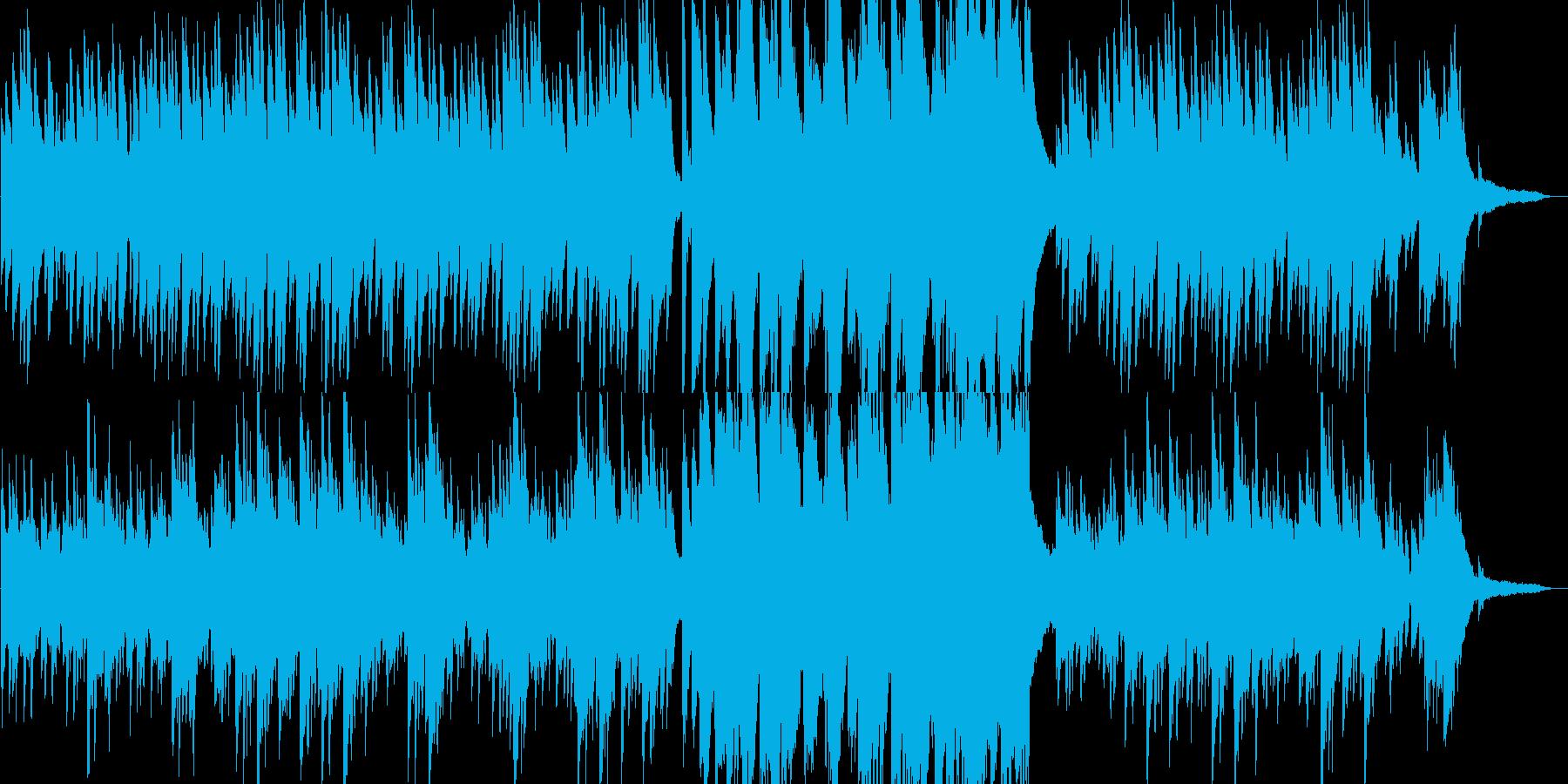 これから何かが始まるような予感のピアノの再生済みの波形