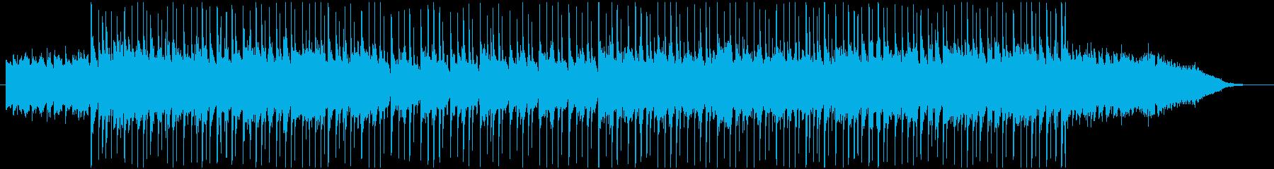 明るくポップなBGMの再生済みの波形