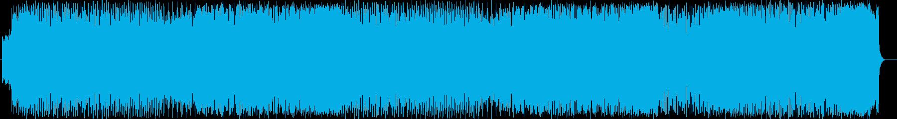 JPOP テクノ 可愛い アイドルの再生済みの波形