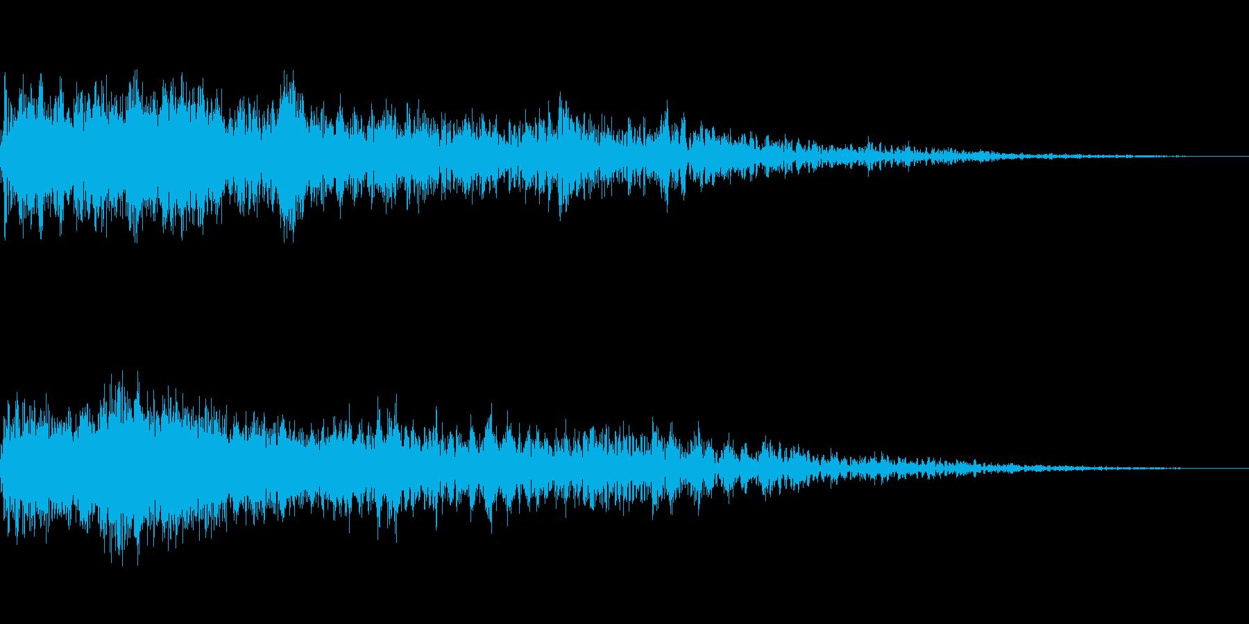 [チュイーン]スキル獲得(明るく柔かい)の再生済みの波形