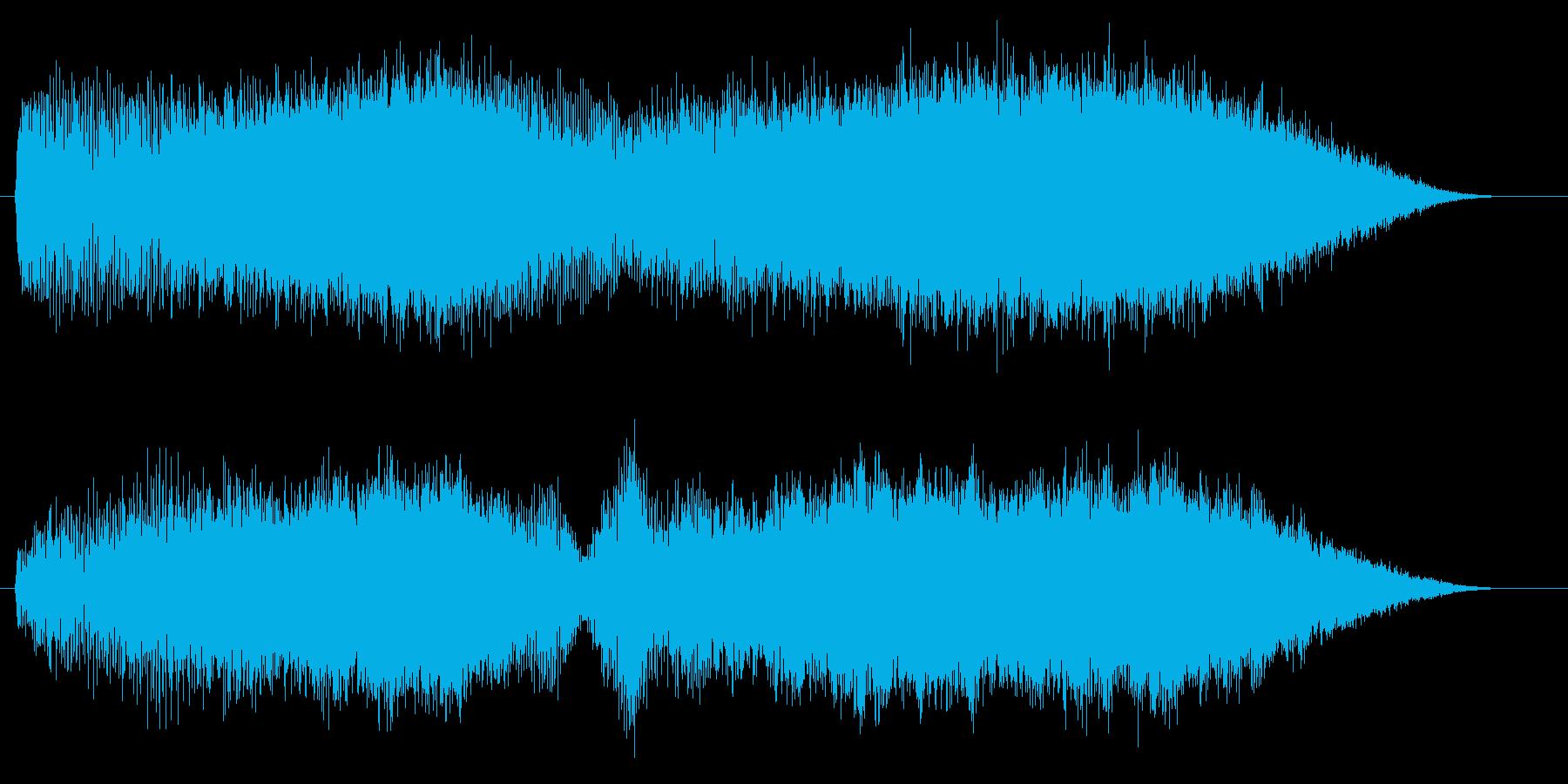 ジャララーン(不思議な世界のシンセ)の再生済みの波形