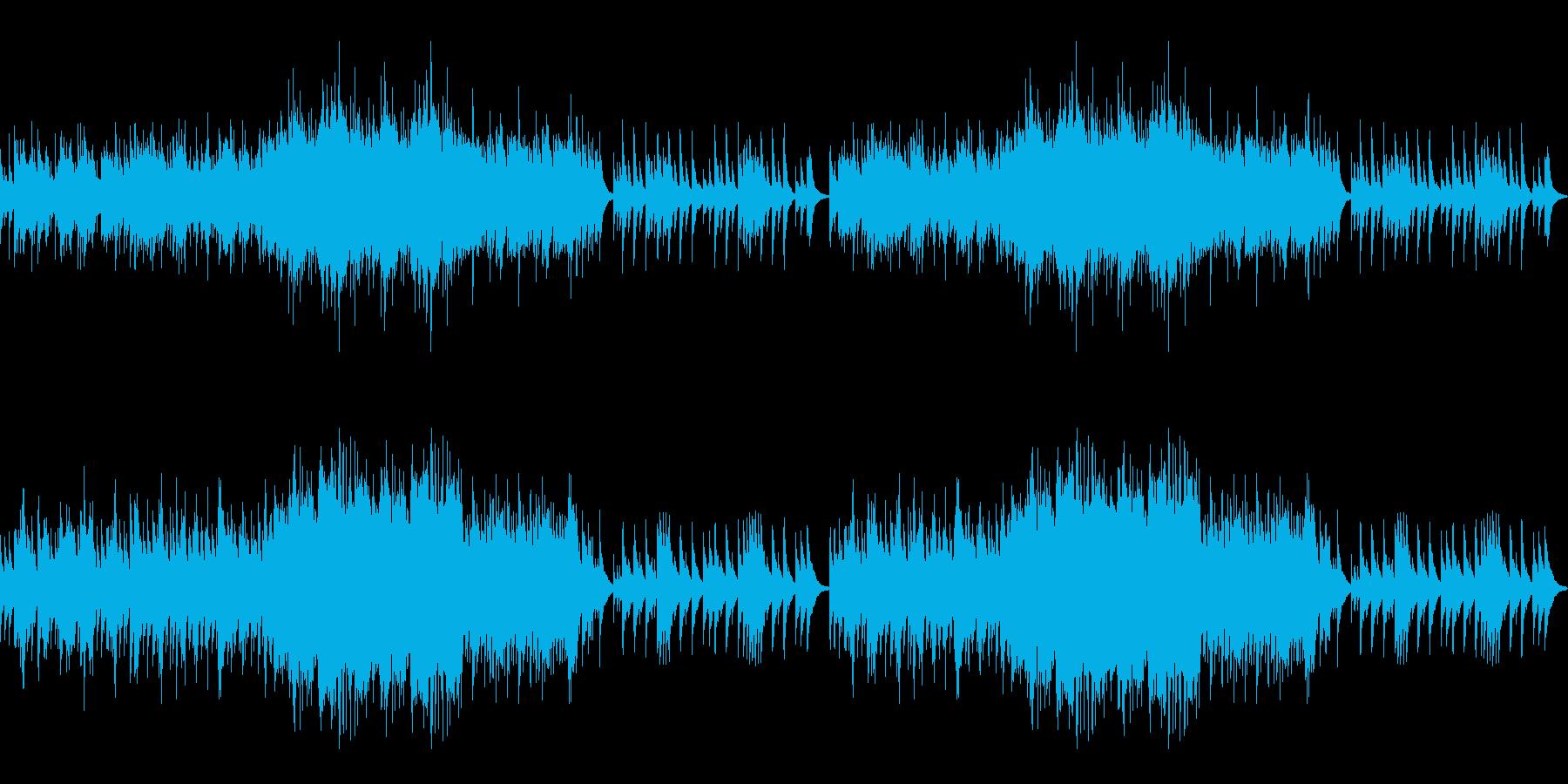 琴 正月 和風の再生済みの波形