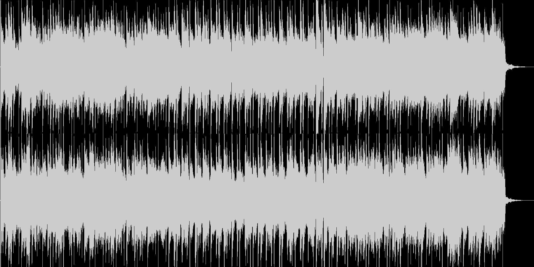 子供用のご機嫌な雰囲気のBGMの未再生の波形
