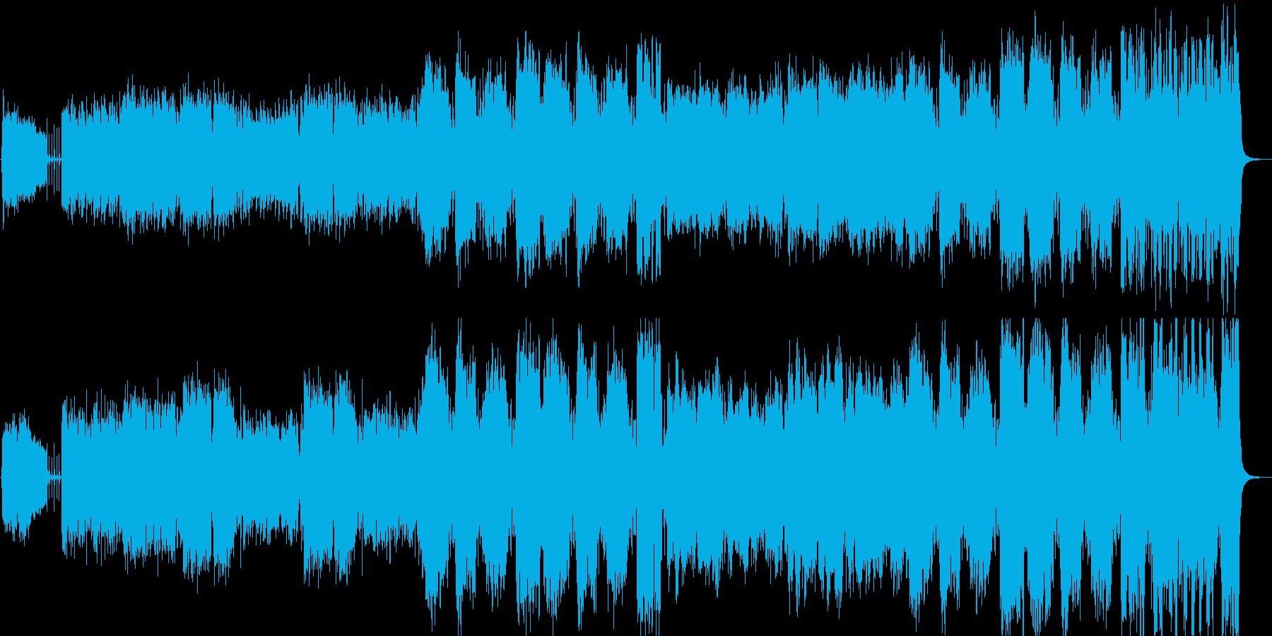 チャイコフスキー花のワルツ、吹奏楽ジャズの再生済みの波形