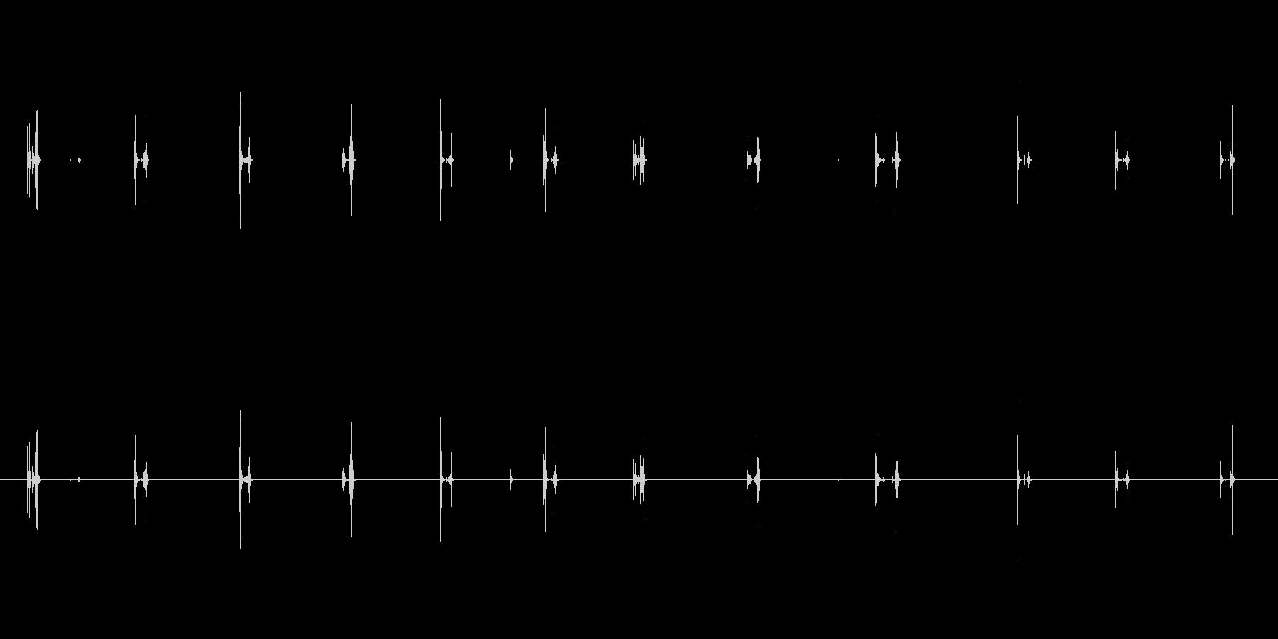 【PC キーボード01-1】の未再生の波形