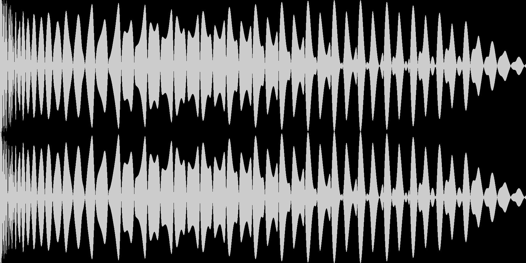 EDMキー入り(F)キックです。の未再生の波形