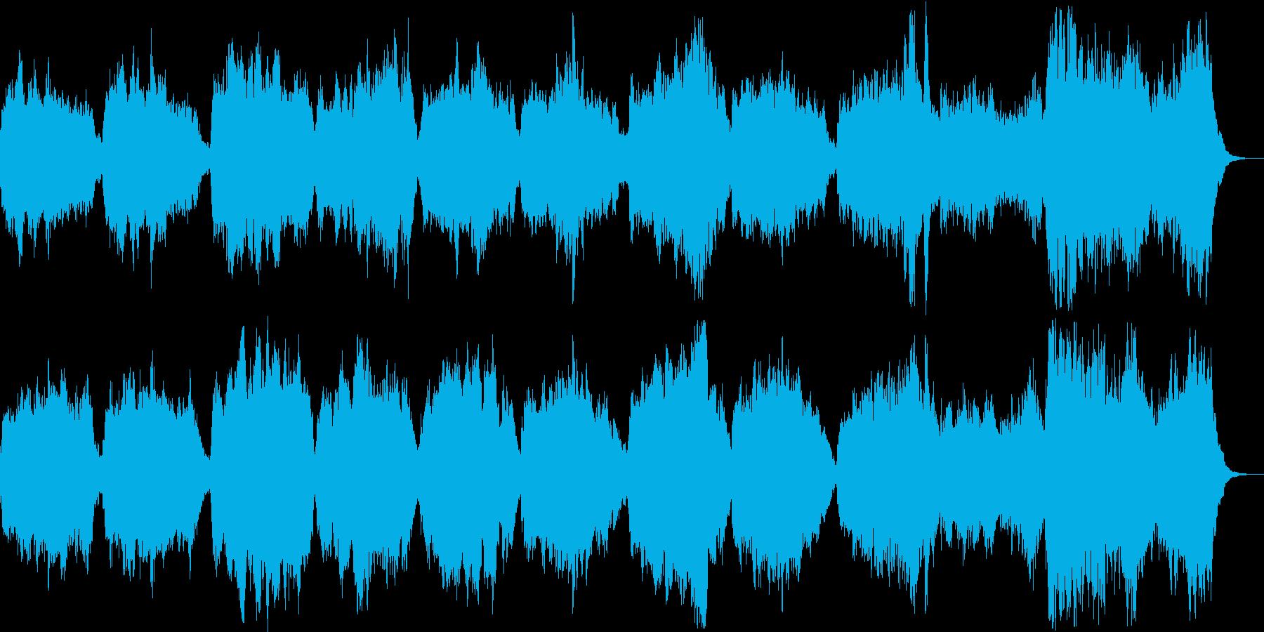 聖なる感じのオーケストラの再生済みの波形