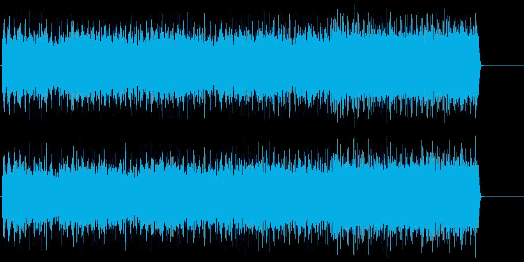 情熱的で爽やかなポップ(Aメロ~Bメロ)の再生済みの波形