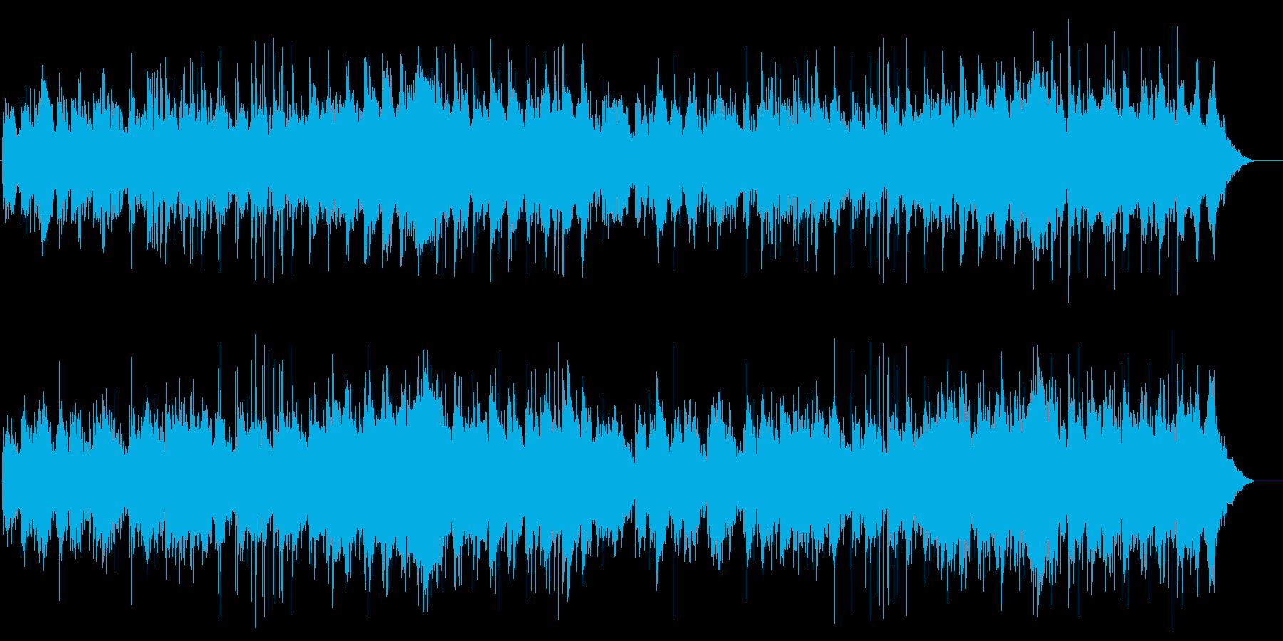 山 感動 切ない のどか 大地 雄大の再生済みの波形