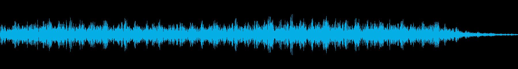 ゴォー(暴風な風)の再生済みの波形
