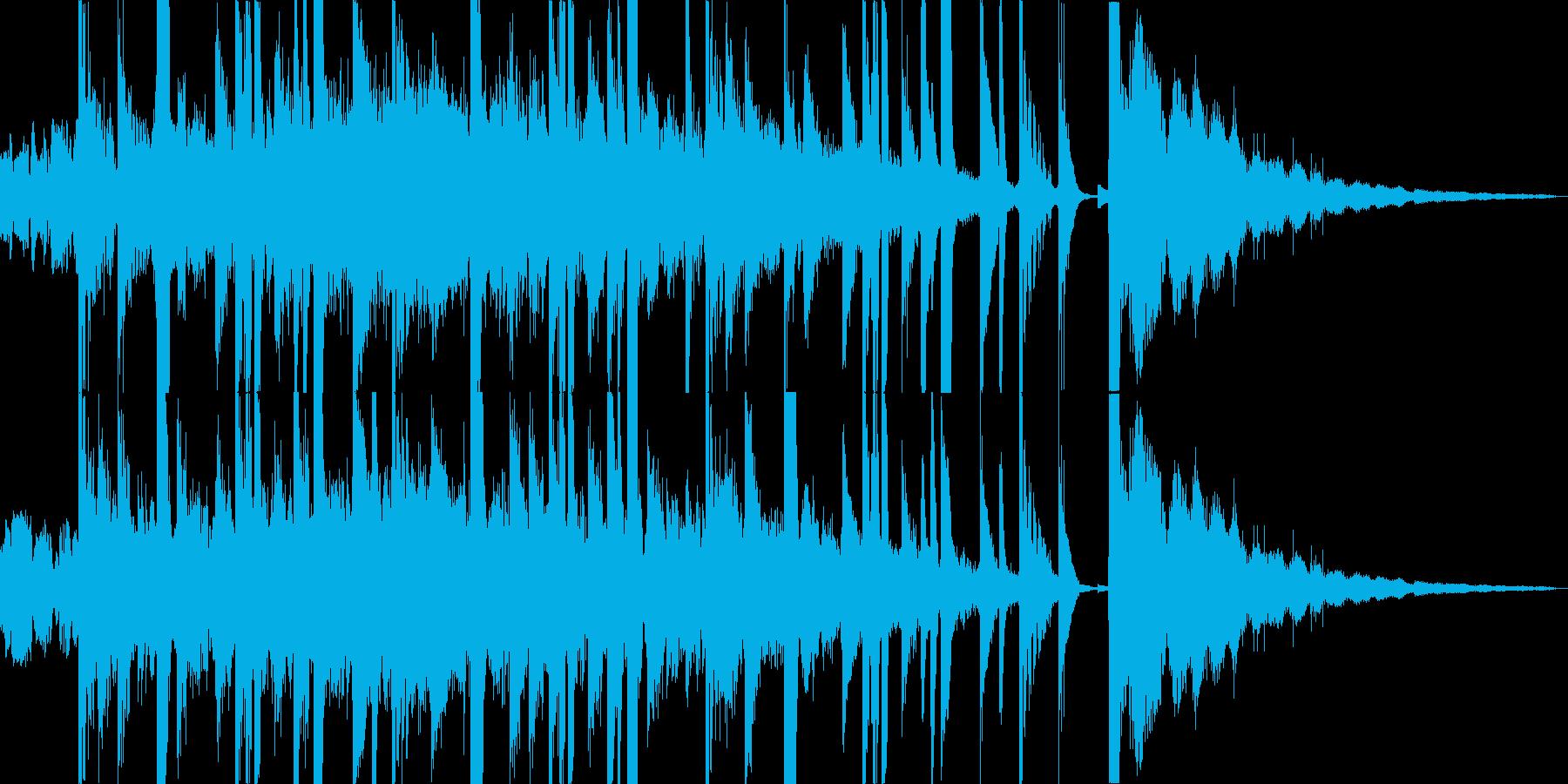 サウンドロゴ ジングル CM 無機質の再生済みの波形