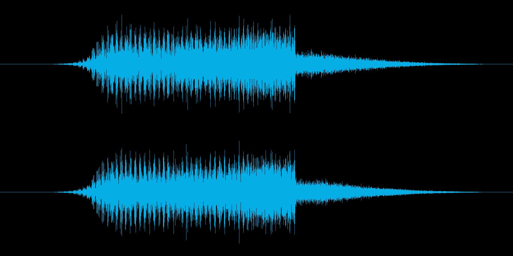 GET PowerUP 普通の再生済みの波形