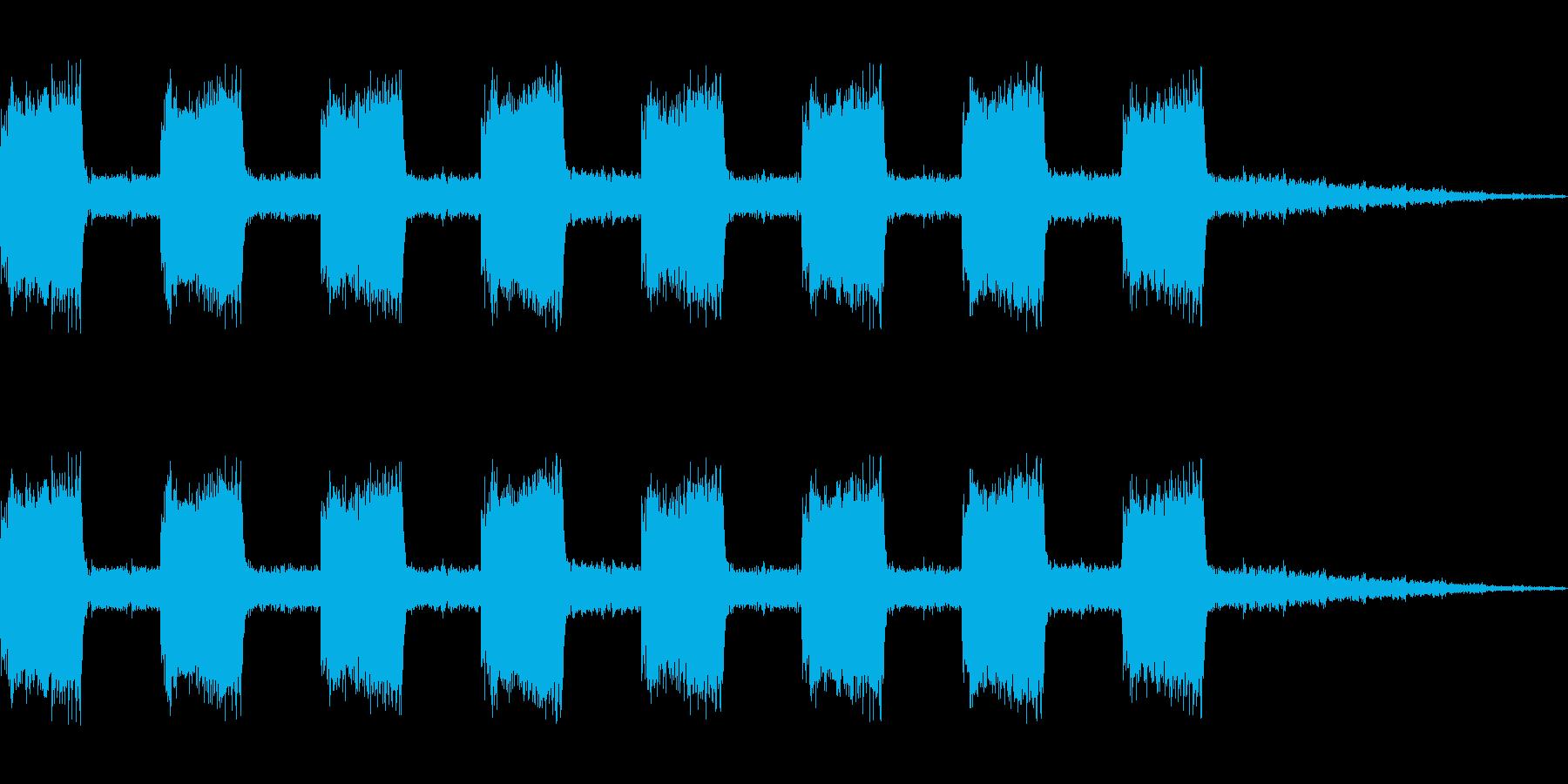 【効果音】警報音4の再生済みの波形