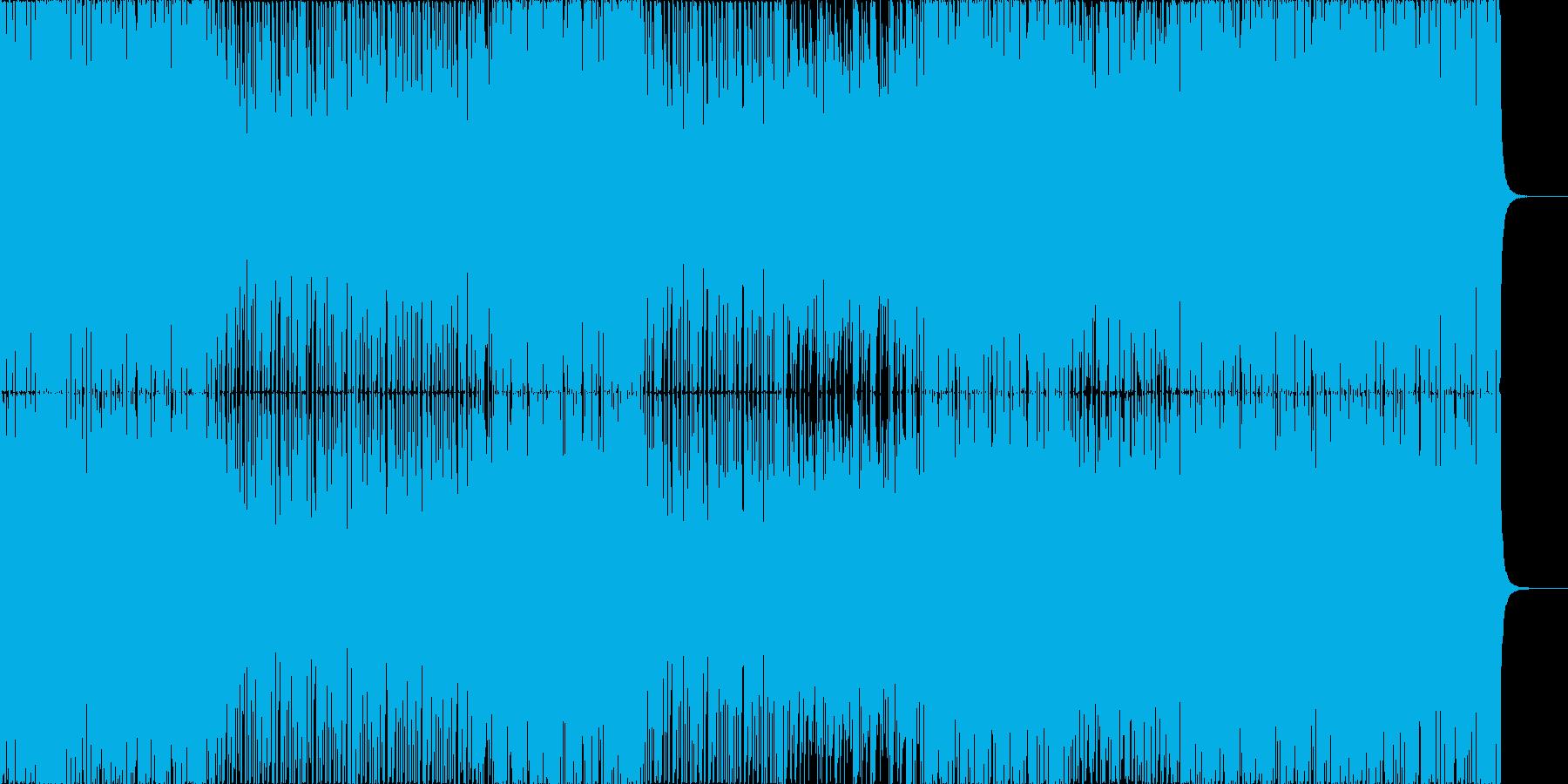 アッパーなディスコハウス。の再生済みの波形