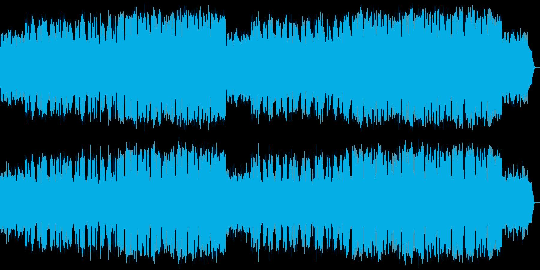 ドラマの主題歌に適す 冬の海の映像浮かぶの再生済みの波形