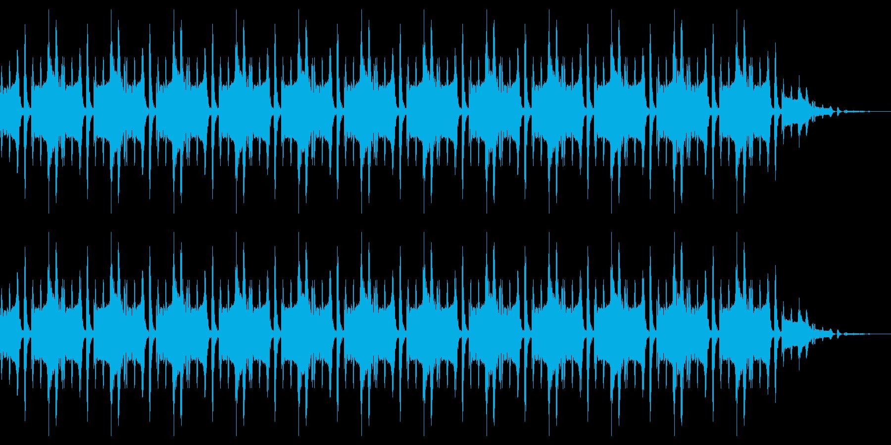 脱力感のあるリフレインの再生済みの波形