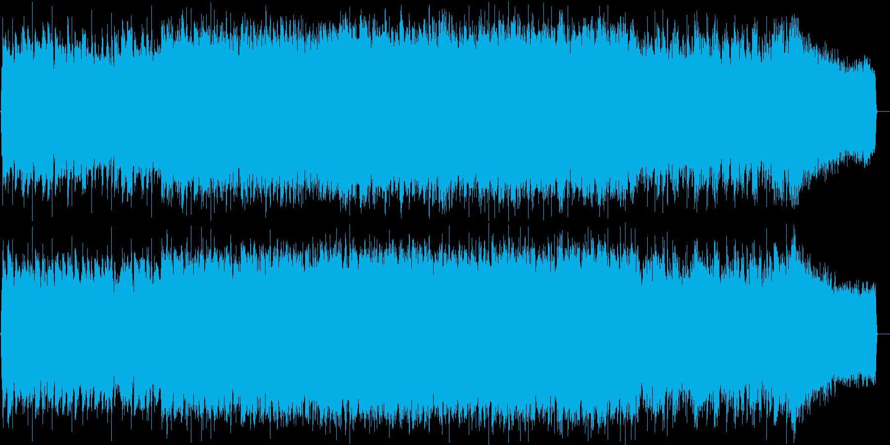ロック イントロ ジングル 生演奏の再生済みの波形