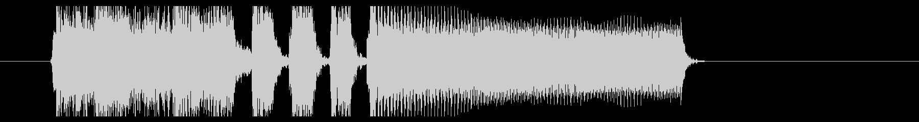 スラッシュメタルジングル(BPM210)の未再生の波形