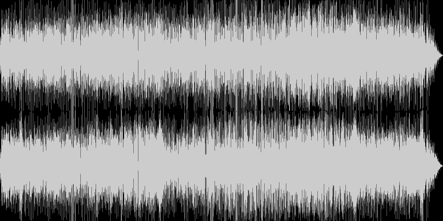 フルートとアコギによる爽やかなボサノバの未再生の波形