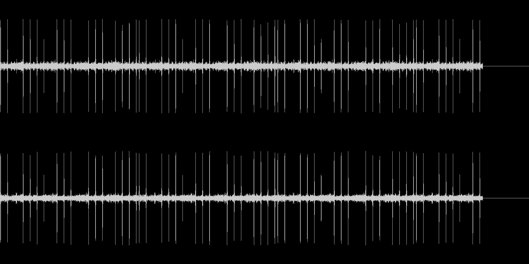 宇宙人の信号の未再生の波形