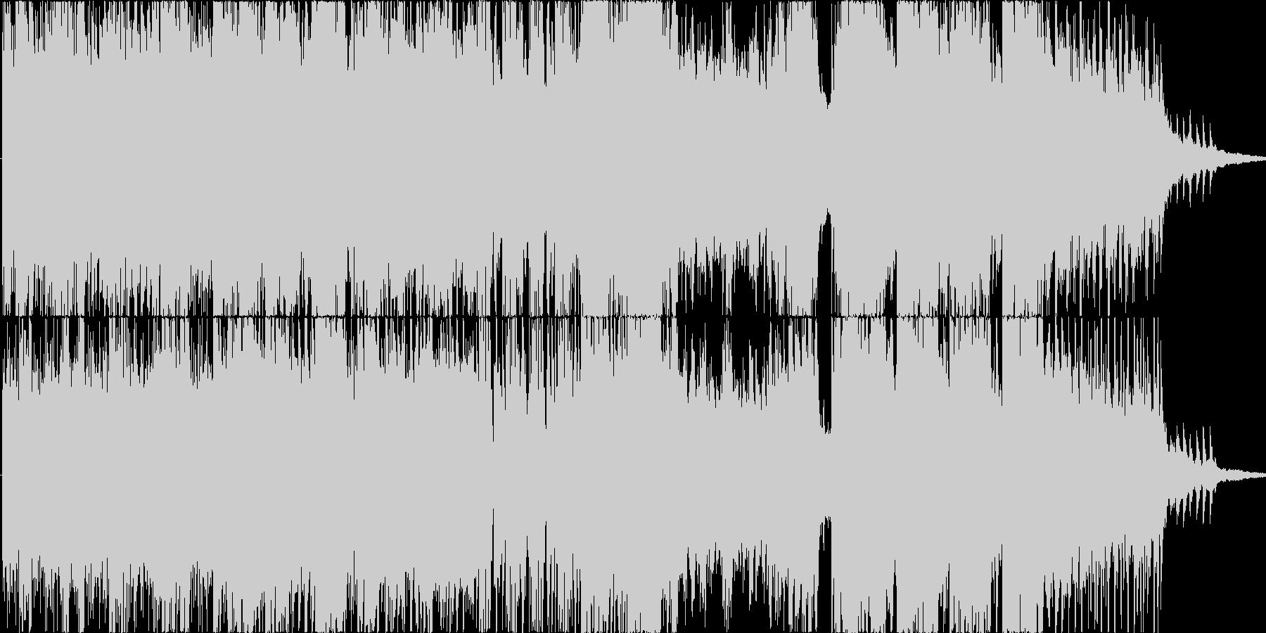 物語の様に展開していくオーケストラの未再生の波形