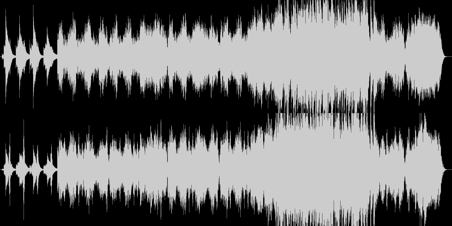 FF6のティナのテーマの様なイメージの未再生の波形