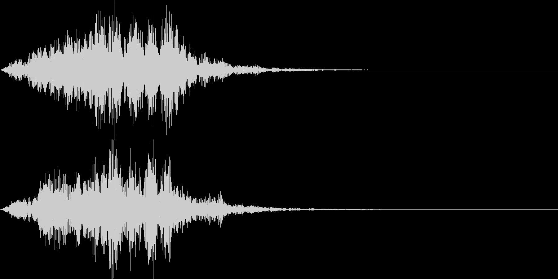 サウンドロゴ05の未再生の波形